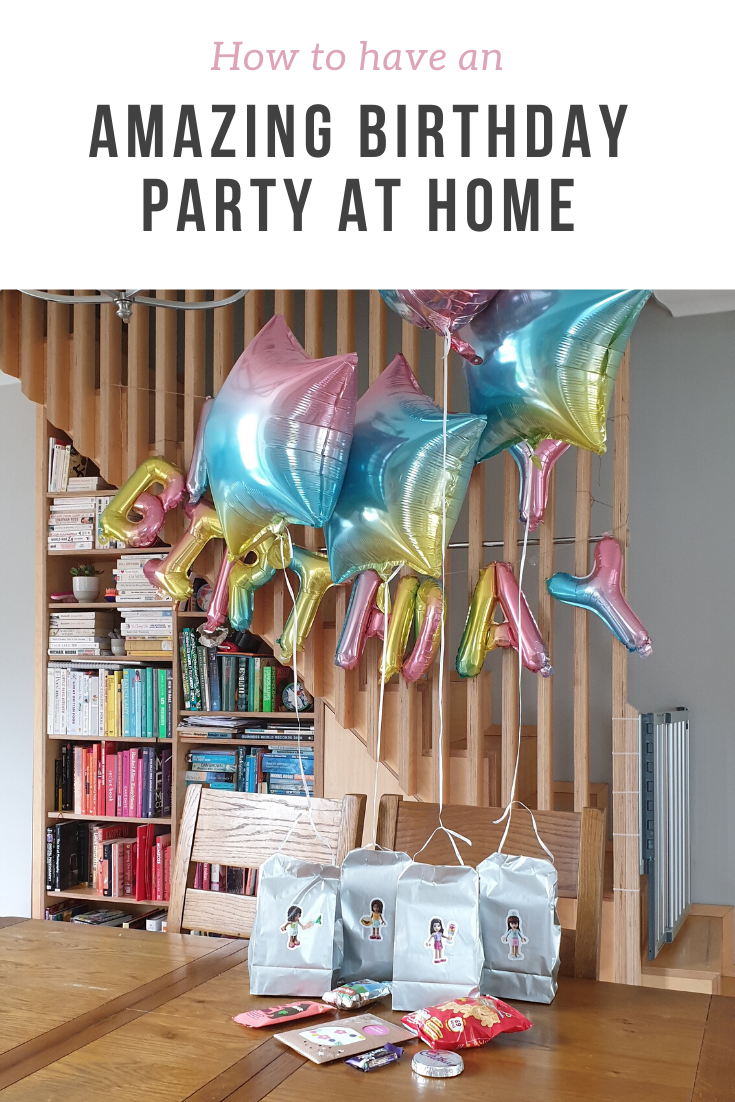 How to have a fantastic birthday party home, even if it is online or restricted due to the lockdown or social distancing.