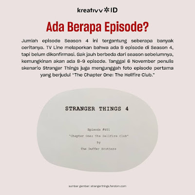 Ada Berapa Episode Serial STRANGER THINGS SEASON 4