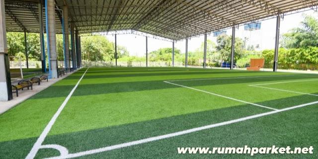 Jenis Lantai Untuk Lapangan Futsal Indoor - rumput sintetis