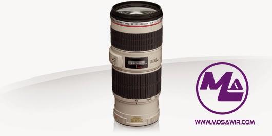 عدسة كانون: EF 70-200mm f/4L IS USM