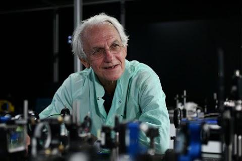 Gérard Mourou Nobel-díjas fizikus tart előadást az SZTE-n