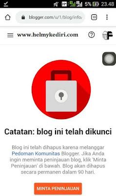 Anda tidak benar-benar memiliki blog