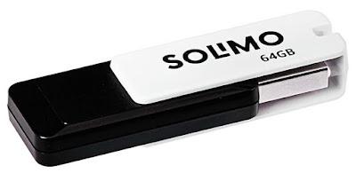 Solimo BlitzTransfer 64GB USB 2.0 Pendrive