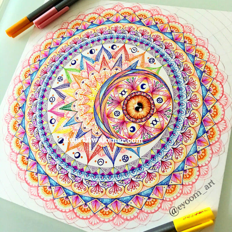 Moon Mandala by Luna Ahn