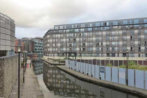 New Islington Manchester England.