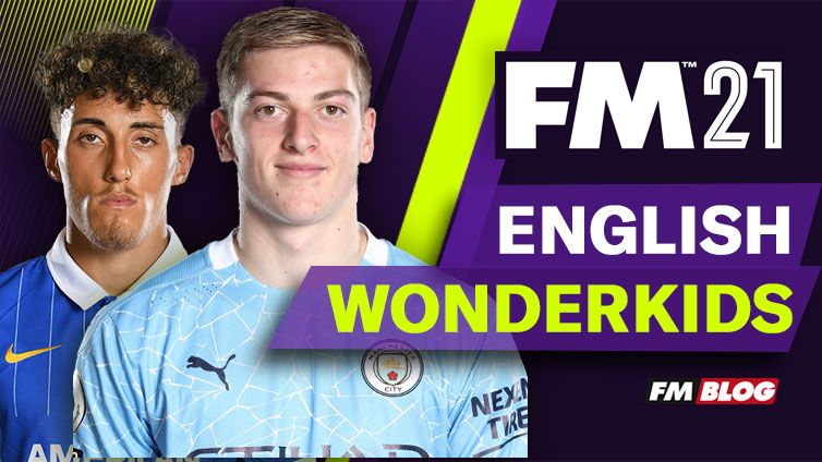 English Wonderkids Football Manager 2021