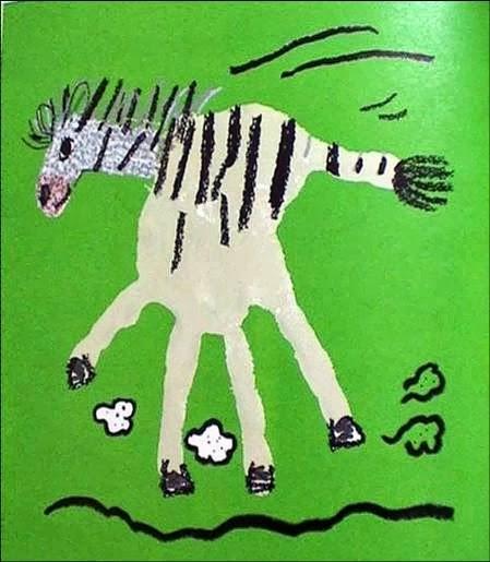 JORNAL R 7ª: Arte Com As Mãos Para O Papel Com Tinta Guache