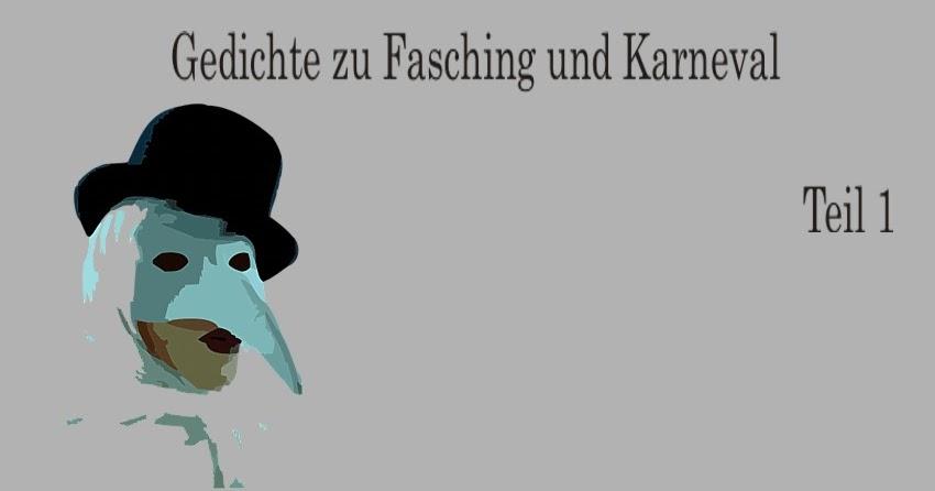 Gedichte Und Zitate Fur Alle Gedichte Zum Fasching Karneval Und