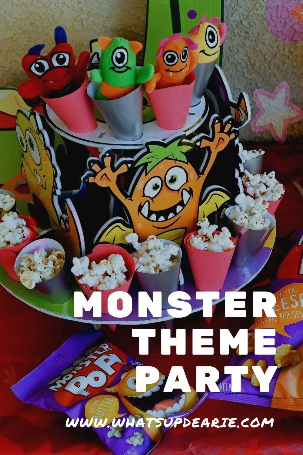 monster theme party kit