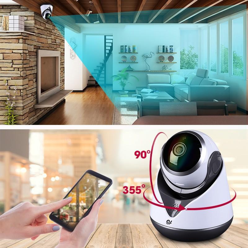 Camera Quan Sát Wifi Trong Nhà CareCam 19Y200 Độ Phân Giải 2.0Mpx