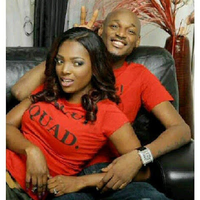 ADORABLE COUPLE! 2FACE AND HIS WIFE ANNIE IDIBIA DAZZLE IN THIS ATTIRE... CHECK THE STYLE