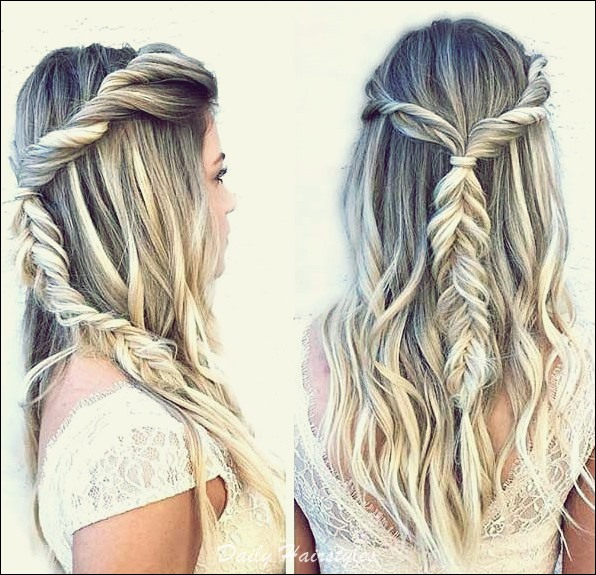 6 Cool Prom Hairstyles Half Up Half Down Daily Hairstyles Ideas