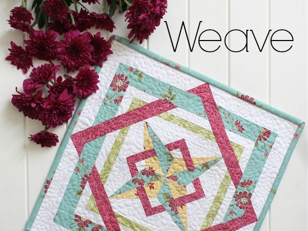 Weave Mini Quilt + Your Free May 2016 Calendar