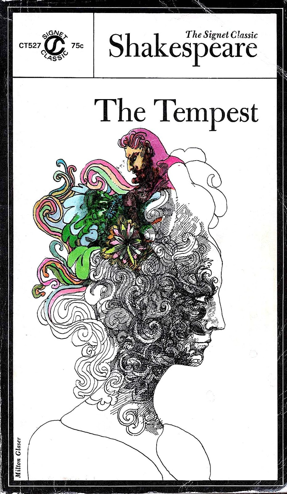 Milton Glaser, the tempest book cover