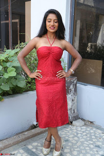 Mamatha sizzles in red Gown at Katrina Karina Madhyalo Kamal Haasan movie Launch event 233.JPG