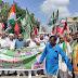 अखिल भारतीय किसान संघर्ष समन्वय समिति के बैनर तले  माले कार्यकर्ताओं के समर्थन भारत बंद में शामिल हुए