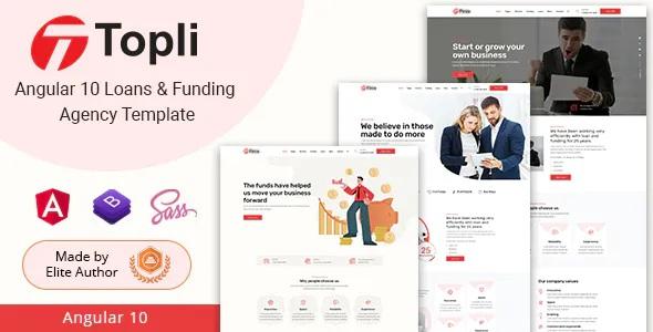 Best Loans & Funding Agency Template