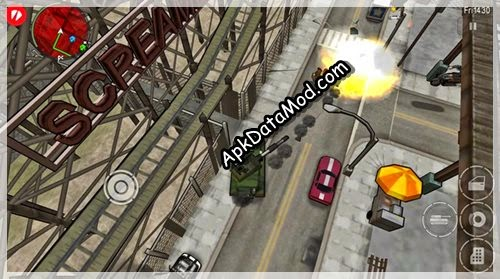GTA Chinatown Wars tank riot