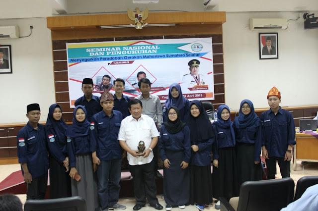 IKBM Sumsel Selenggarakan Pengukuhan Dan Seminar Nasional