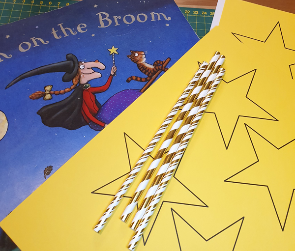 How to make the witch's wand from Room on a Broom