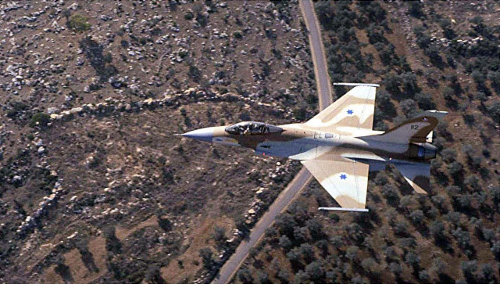 Israel menyerang depot senjata, pengintaian, dan kamp pelatihan di Suriah