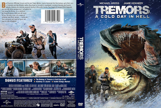 Tremors A Cold Day In Hell (scan) DVD Cover