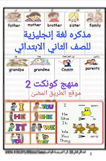 مذكره اللغه الانجليزيه كونيكت 2 للصف الثاني الابتدائي الترم الاول 2020 لمستر محمد السعدني