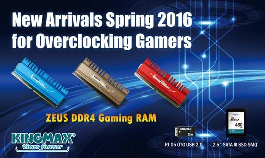 KINGMAX ZEUS DDR4 Gaming RAM