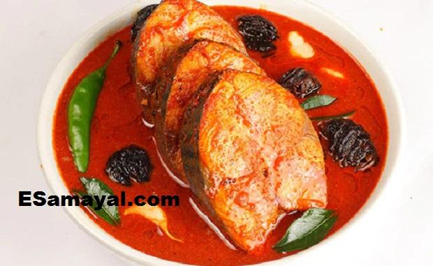 நெய்மீன் கறி ரெசிபி | Neymeen Curry (Seer/Surmai) Recipe !