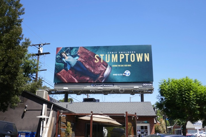 Stumptown season 1 billboard