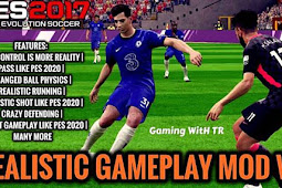 Realistic Gameplay Mod V5 For - PES 2017
