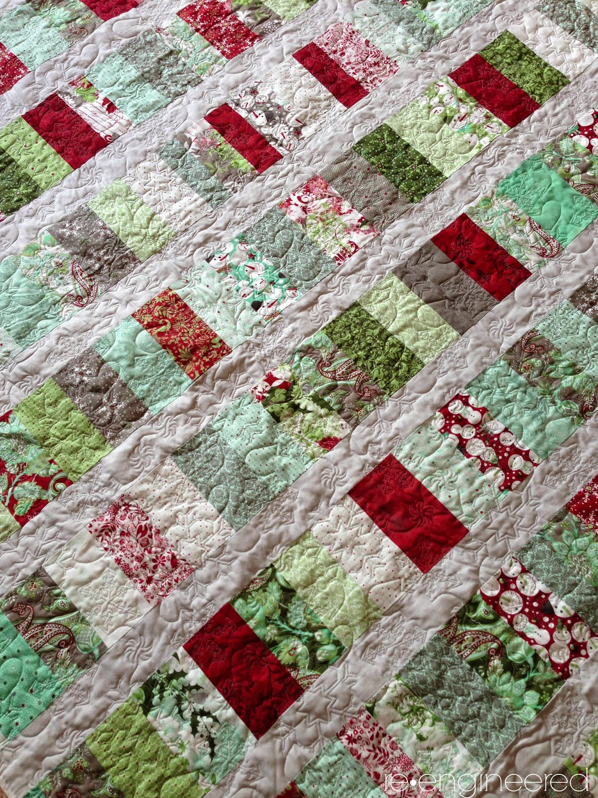 Christmas Coins Quilt