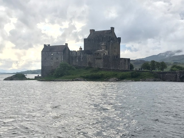 Eilean Donan Castle, Castle, Kyle, Scotland, Scenery, Beautiful,