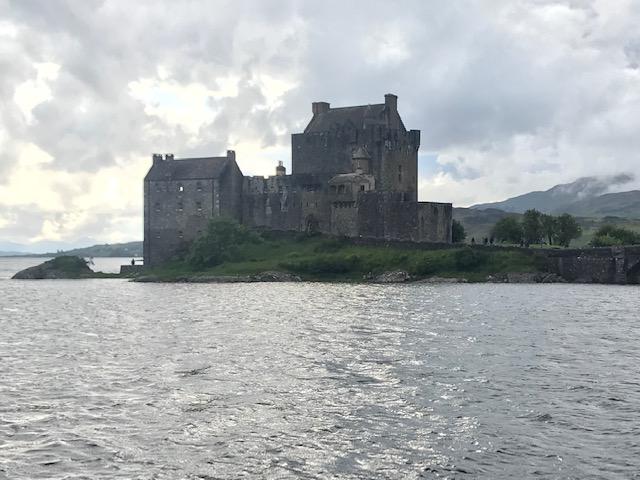 Eilean Donan Castle, Castle, Kyle, Scotland, Scenery, Beautiful,