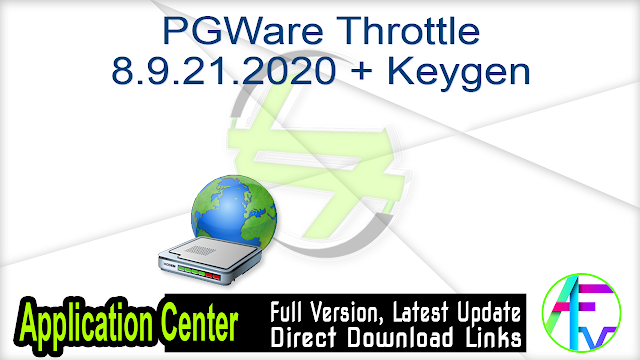 PGWare Throttle 8.9.21.2020 + Keygen