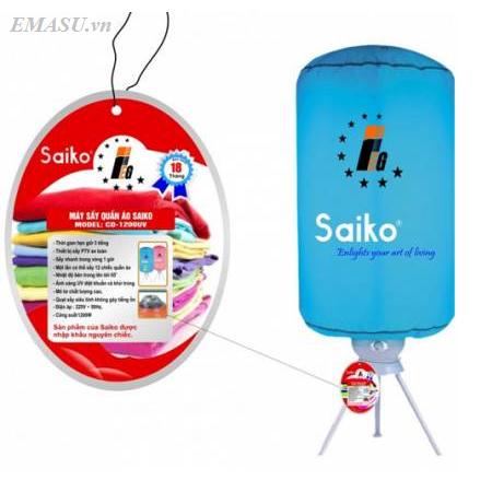 Cửa hàng (đại lý) bán máy (tủ) sấy quần áo Saiko CD-1200UV (CD1200UV) chính hãng giá rẻ nhất Hà Nội