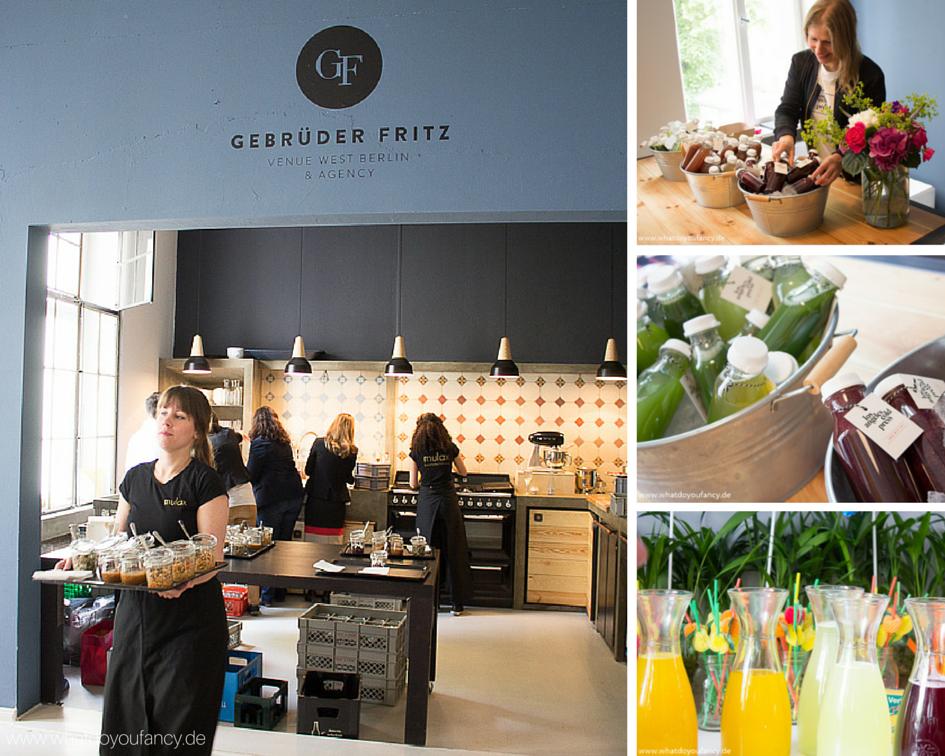 Essen und Trinken beim sisterMAG Bloggerevent sommergesund
