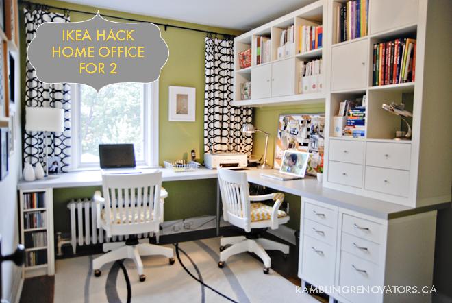 ikea l-shaped office desk, l shaped office desk for two, ikea hack desk