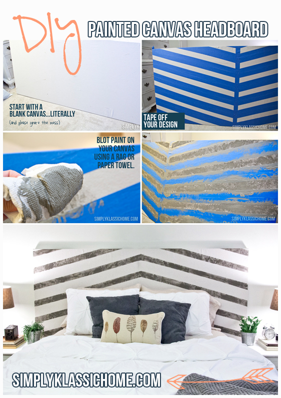 It's easier than you'd think to transform an old closet door into a beautiful headboard!