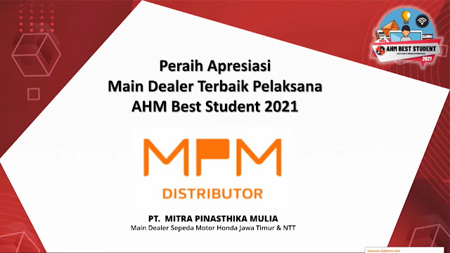AHM best student 2021