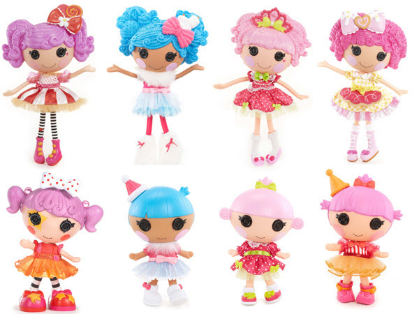 Lalaloopsy Super Silly Party Large, Littles and Minis