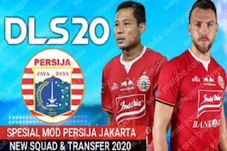 DLS 2020 Persija Liga 1 Indonesia 2020 2021