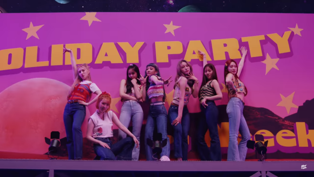 Weekly Holds Summer Party in Comeback MV 'Holiday Party'