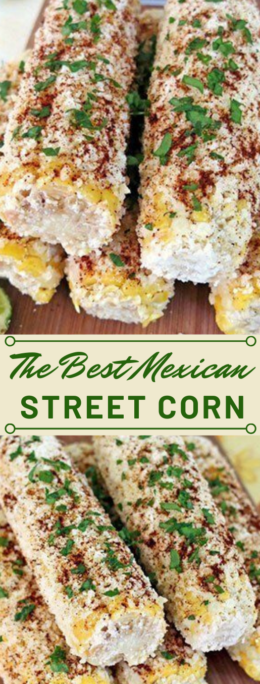 THE BEST MEXICAN STREET CORN #vegetarian #easy #mexican #corn #recipe