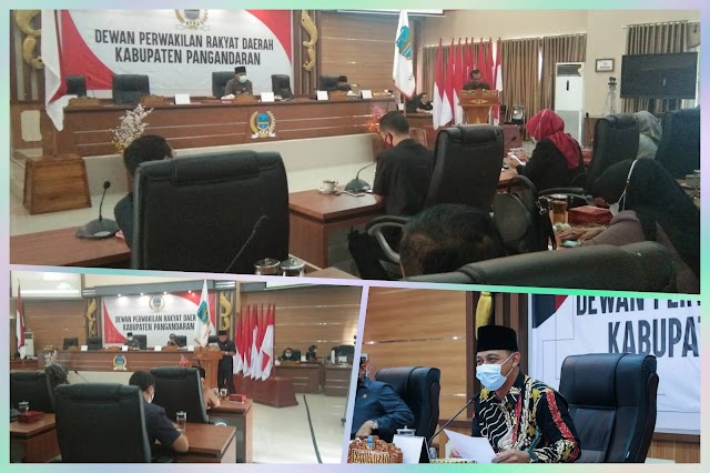 Asep Noordin Ketua DPRD Kabupaten Pangandaran : Wisatawan Yang masuk Obyek Wisata Pangandaran Wajib Tunjukan Bukti Vaksin
