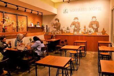 kedai kopi wayang kofie