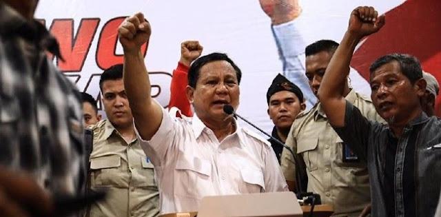 Desakan Akar Rumput Diterima Prabowo Subianto Sebagai Perintah Partai