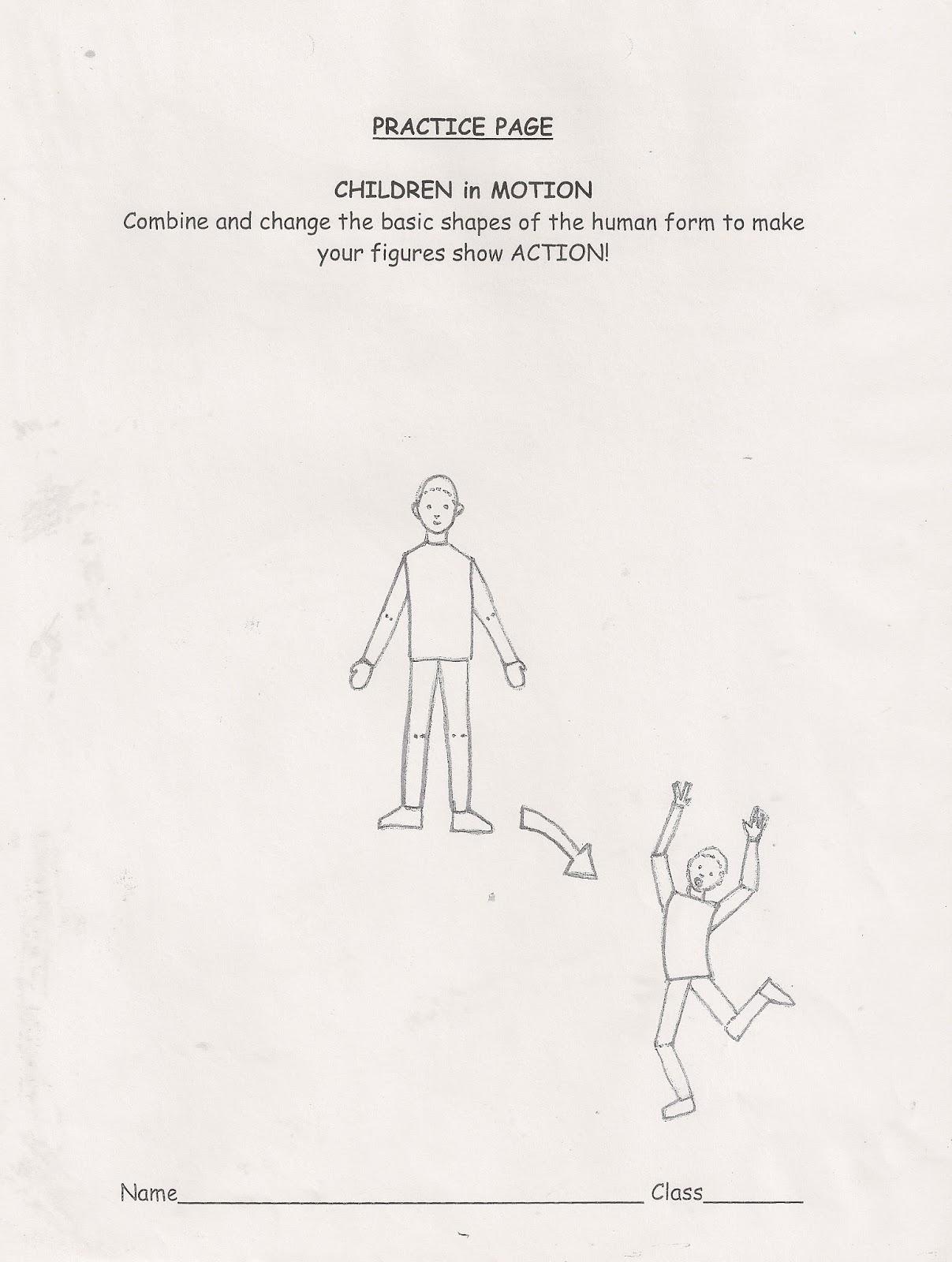 No Corner Suns Practice Page Children In Motion Good