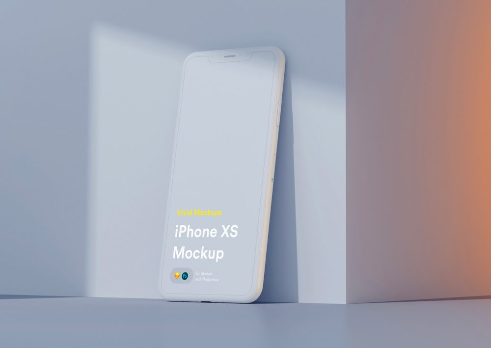 Clay iPhone XS Mockup