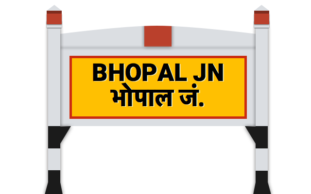 Bhopal Railway Enquiry Number